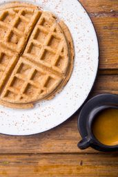 Waffle de Matcha