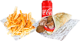 Mix Kebab + Papas + Refresco