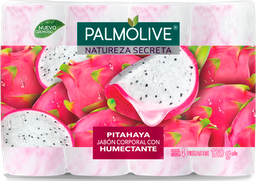 Jabon Corporal Palmolive Natureza Secreta Pitaya 4x120 G