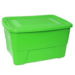 Caja Plastictrends 10 gal Atlanta Verde