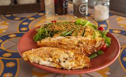 Sándwich Deli - Quesos - al Pesto