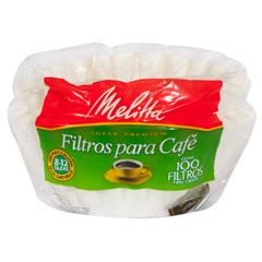 Filtros Para Café Melitta Tipo Cesta 100 U
