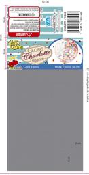 Bolsa de globos Party Loons charlotte gigante 1 pza