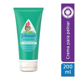 Crema Para Peinar Johnson'S Hidratación Intensa 200 Ml