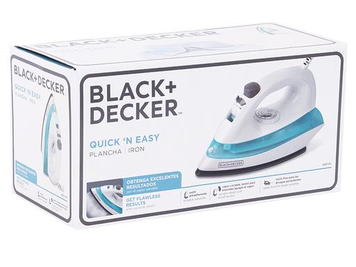 Plancha De Vapor Black & Decker Quick & Easy 1 U