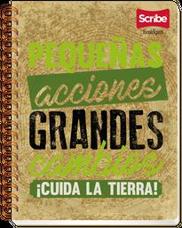 Cuaderno Scribe Pro Ecologic Profesional Raya 100 Hojas