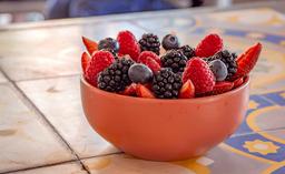 Frutos Rojos con Fresas