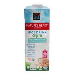 Bebida de Arroz Natures Heart Orgánica 946 mL