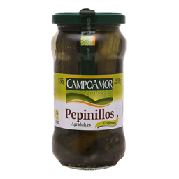 Pepinillos CampoAmor Agridulces 345 g
