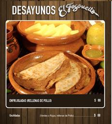 2x1 Desayuno de Enchiladas