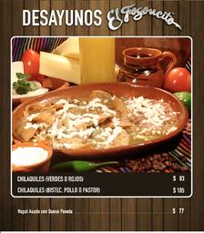2x1 Desayuno de Chilaquiles