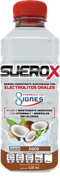 Suerox Adulto 8Iones Coco 630 Ml