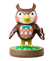 Figura Amiibo Serie Animal Crossing Blathers Nintendo Wii U