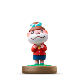 Figura Amiibo Lottie Serie Animal Crossing Nintendo Wii U