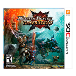 Videojuego Nintendo 3ds Monster Hunter G.