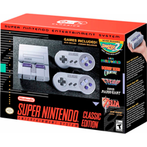 Consola Super Nintendo Mini Classic Edition SNES