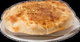 Spaguetti Pesto, Crema y Champiñones