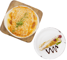 Lasagna a la Bolognesa + Postre GRATIS