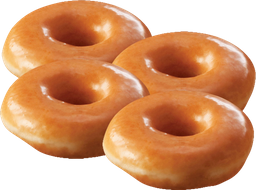 Combo 4 Big Donuts Dona Maple 85Gr