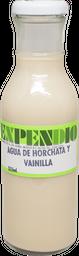 Agua de Horchata con Vainilla