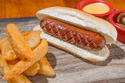 Back to back hot dog