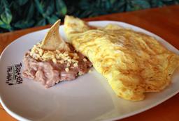 Omelette con Tocino