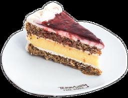 Berry Nuts Cheese Cake Rebanada