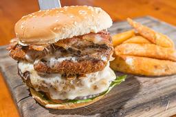Gameday burger