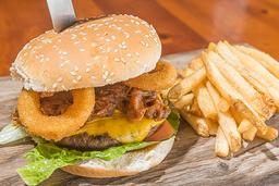 Hall of fame bbq burger