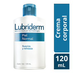 Crema Corporal Lubriderm Piel Normal 120 mL