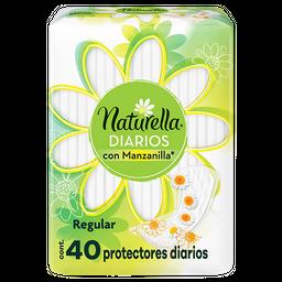 Pantiprotectores Naturella Con Manzanilla Diarios