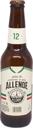 Cerveza Allende Gold Ale Botella 355 ml