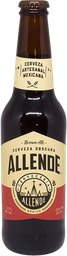 Cerveza Allende Brown Ale Botella 355 ml