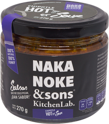 Salsa Naka Noke And Sons Chipotle Hot and Sour 270 g