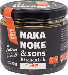Salsa Naka Noke And Sons Umami Clásica 270 g