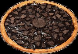 Pizza de Chocolate Oreo