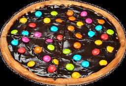 Pizza de Chocolate con Lunetas