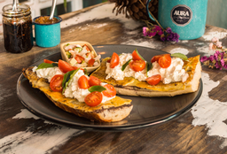 Molletes Burrata