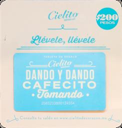 Tarjeta de Regalo $200
