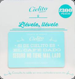 Tarjeta de Regalo $300