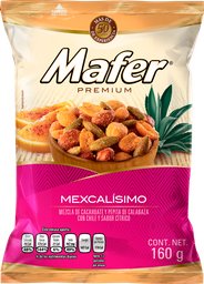 Cacahuates Mafer Premium Mexcalisimo 160 g