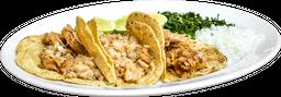 Orden de 3 Tacos de Carnitas