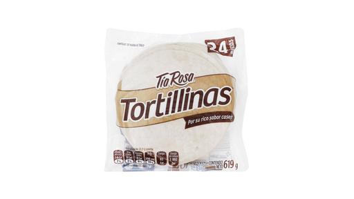 Tortilla consumos 24 piezas Tía Rosa 577 gr