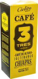 Caja de Café 3 - Jaltenango Chiapas