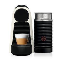 Cafetera Nespresso Essenza Mini y Aerocciono, Color Blanca