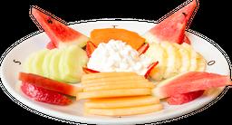 Plato de Frutas con Queso Cottage (110g)