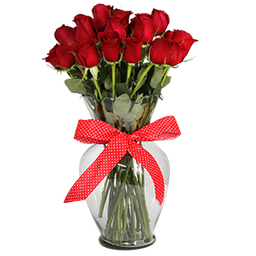 Jarron Rosa Roja