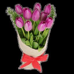 Yute tulipan morado