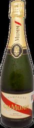 Champagne Mumm Cordon Rouge - Chardonnay y Pinot Meunier