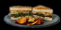 Sándwich de Pavo Horneado